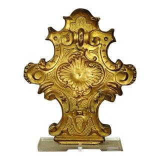 Gilded Metal Cross
