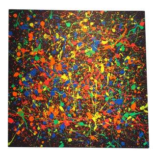 Jackson Pollock Style Abstract Modern Painting