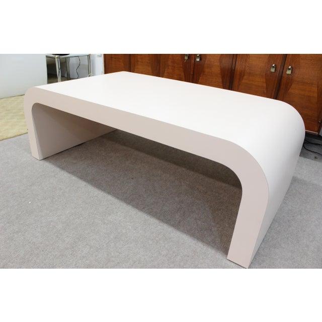 Mid Century Modern Pink Laminate Coffee Table Chairish