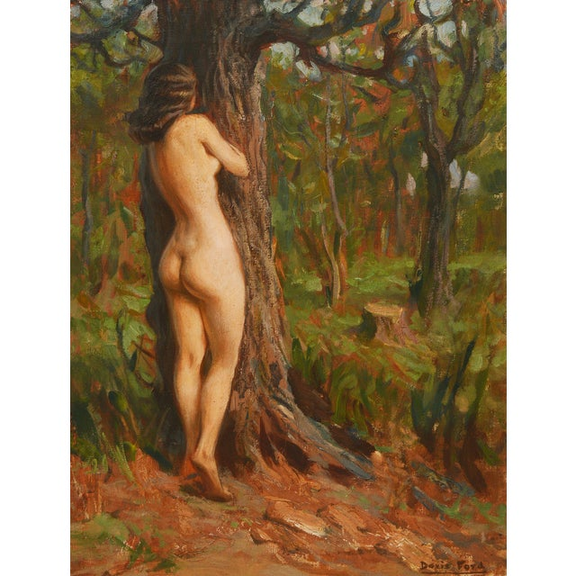 Dorthy Ford Impressionist Nude Woman Painting - Image 4 of 6