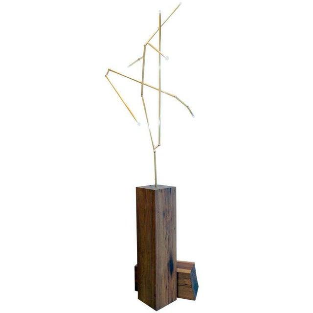 Untitled Lit Sculpture - Image 2 of 6