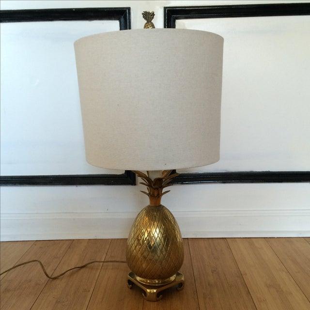 Brass Pineapple Lamp - Image 2 of 7