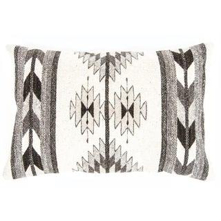 Grey Oaxaca Wool Pillow Cover