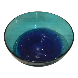 Hand Blown Mexican Serving / Accent Bowl