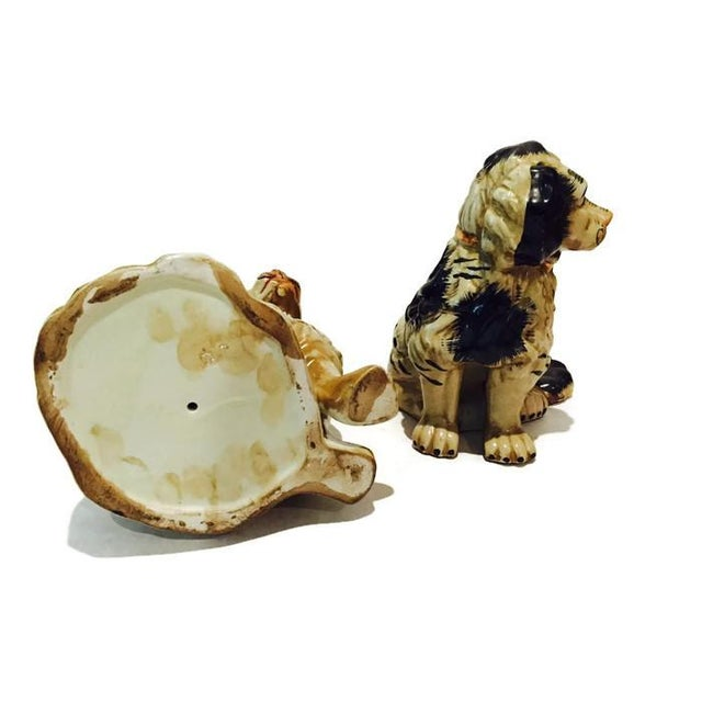 1920s Staffordshire Dogs King Charles Spaniels - A Pair - Image 5 of 7