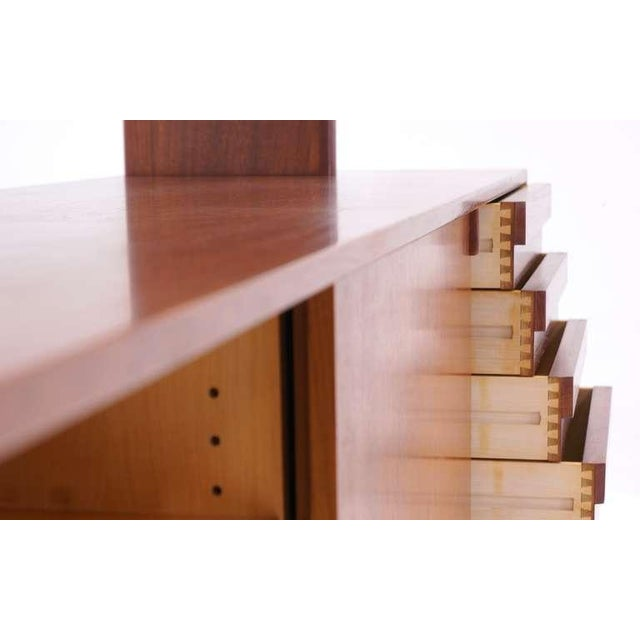 Kurt Ostervig Two Piece Storage Cabinet, Room Divider, or Credenza - Image 3 of 5
