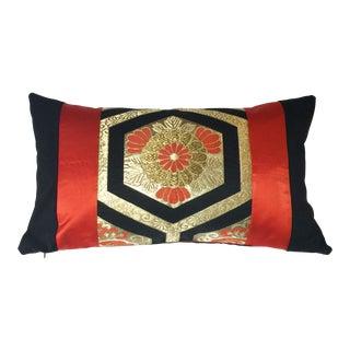 Japanese Vintage Silk Obi Pillow