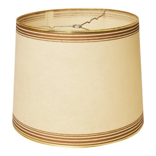 Mid-Century Modern Beige Fiberglass Lamp