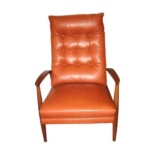 Milo Baughman For Thayer Coggin Leather Recliner