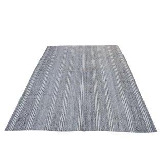 "Turkish Vintage Flat-Weave Rug - 7'3"" x 10'"