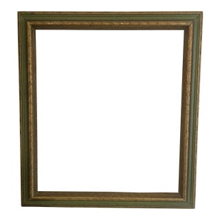 Vintage Green Art Frame