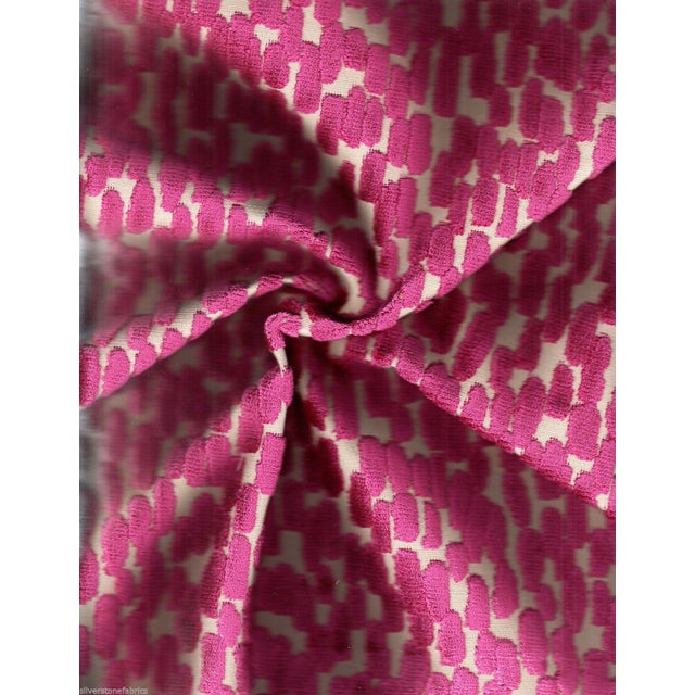 Abstract Pink Velvet - 4.125 Yards - Image 2 of 2