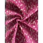 Image of Abstract Pink Velvet - 4.125 Yards