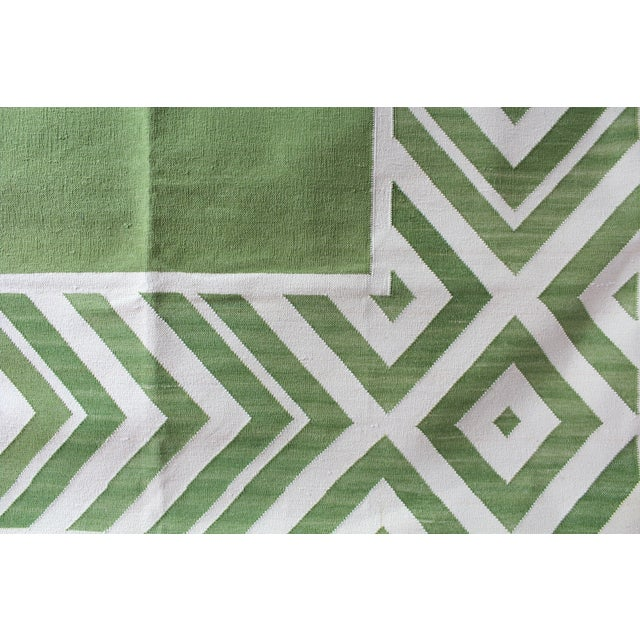 Madeline Weinrib Green Darlington Rug - 8' x 10' - Image 6 of 8