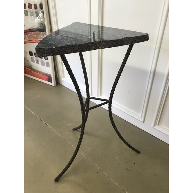 Unique Custom Granite Accent Table - Image 4 of 4