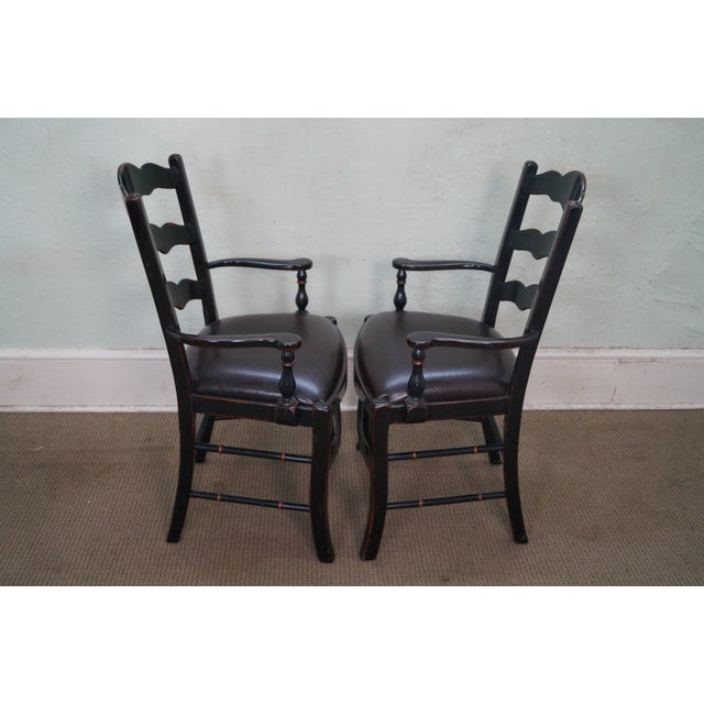 Theodore Alexander Ateliers Chairs - A Pair - Image 3 of 10