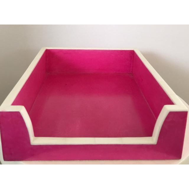 Hot Pink Paper Tray - Image 3 of 5