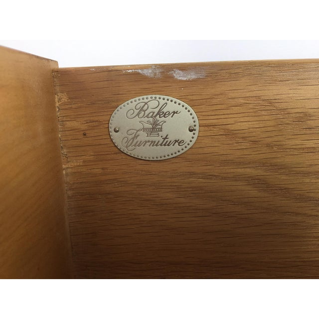 Image of Baker Furniture Chinese Chippendale Bamboo Dresser