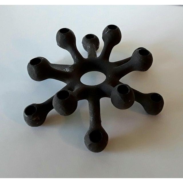 Dansk Danish Modern Spider Iron Candle Holder - Image 2 of 6