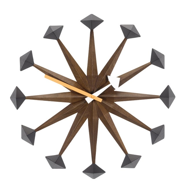 Image of Vitra George Nelson Polygon Clock - Retail $755