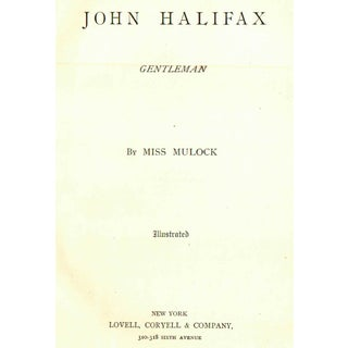 John Halifax: Gentleman