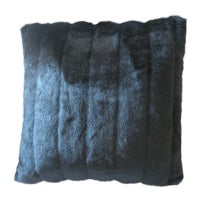 Faux Mink Decorative Pillow