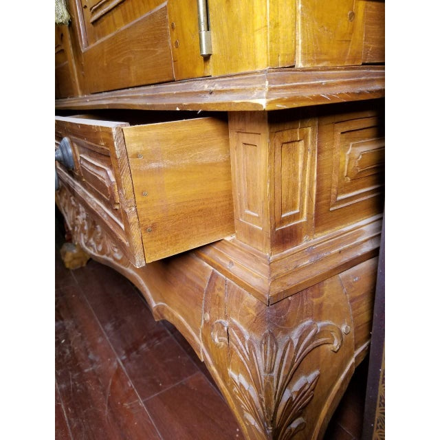Vintage Southeast Asian Cabinet/Armoire - Image 9 of 11