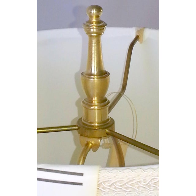 Mid-Century Table Lamps Eglomise Style - Image 10 of 11