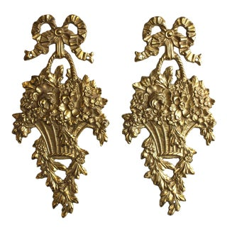 Brass Decorative Wall, Set