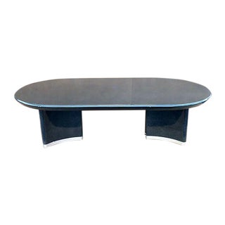 Karl Springer Style Dining Table