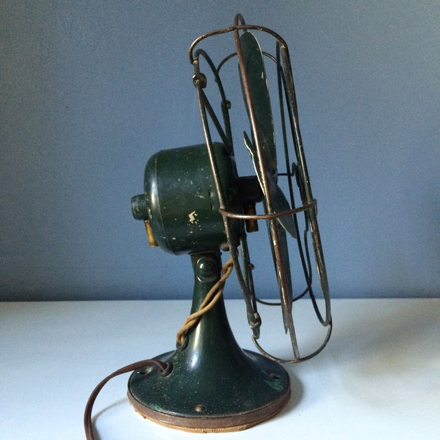 Vintage GE Industrial Table Fan - Image 4 of 10