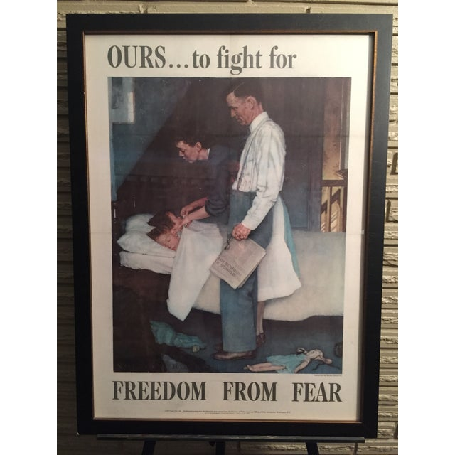 Four Freedoms Posters by Norman Rockwell - Image 5 of 6