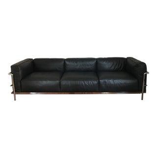 Le Corbusier Lc3 Grand Modele Three-Seat Sofa