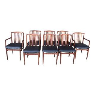 Danish Rosewood Chairs - Set of 8