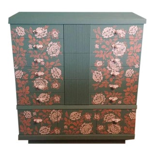Hand Painted Chest of Drawers