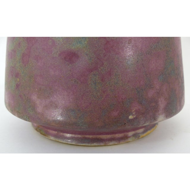 Vintage Burley Winter Conical Vase - Image 6 of 8