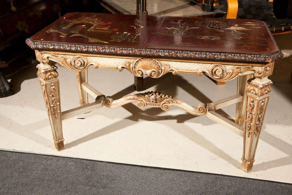 Chinoiserie Coffee Table By Maison Jansen