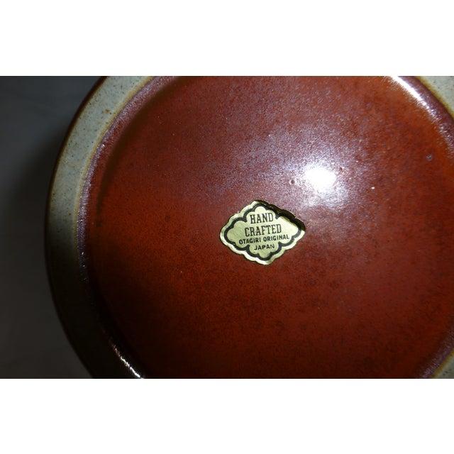 Mid Century Otagiri Japanese Pottery Vase - Image 6 of 6