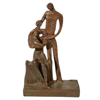 1970's Bronze Signed Sculpture