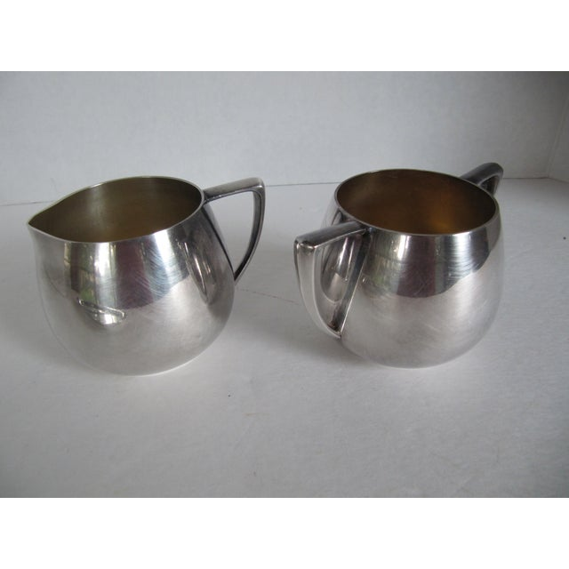 Empire Crafts Silver Plate Serving Set - Set of 3 - Image 5 of 5