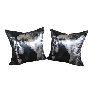 Cushion Cover Velvet Decorative Pillows - A Pair