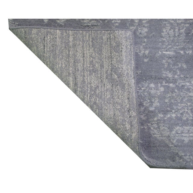 """Indian Gray Modern Rug - 5'2"""" X 7'7"""" - Image 2 of 3"""
