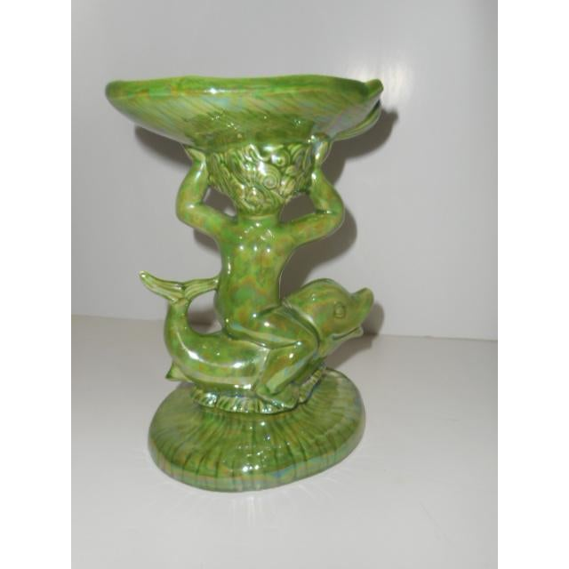 Porcelain Glazed Cupid Ring or Soap Dish - Image 6 of 6