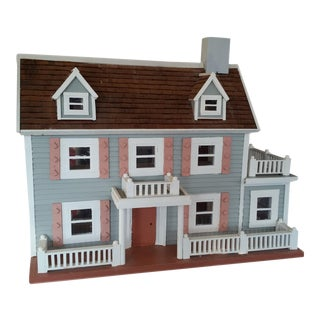 1960s Handcrafted Dollhouse