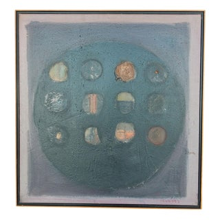 1994 Jose Guedez Oil Painting on Canvas