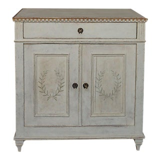 Swedish Sideboard with Painted Decoration (#52-30)