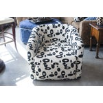 Image of UBU Upholstered Swivel Accent Chair