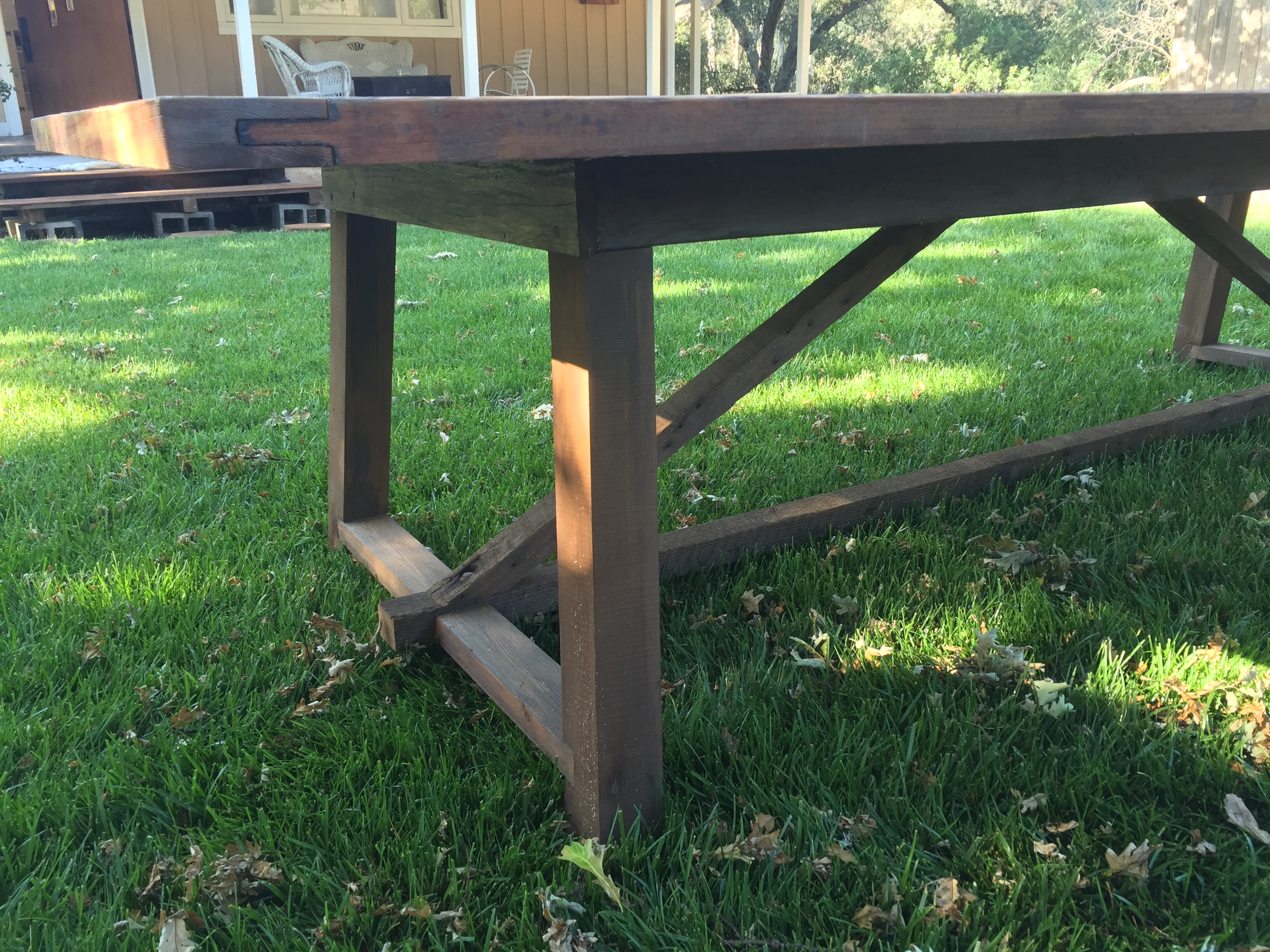 10 Salvaged Reclaimed Wood Outdoor Dining Table Chairish : 9cafb30d c5c5 4694 9a78 35fc91c4e838aspectfitampwidth640ampheight640 from www.chairish.com size 640 x 640 jpeg 79kB