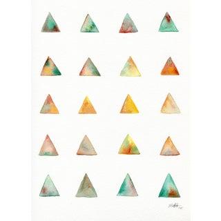 "Ellen Sherman ""Desert Triangle "" Original Painting"