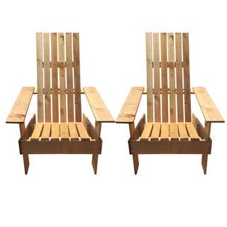 Adirondack Chairs - A Pair
